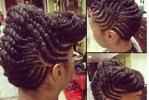 Natural hair/protective styles
