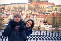 Зимнее Lovestory  в Праге / Уже не первый год я живу в Праге, и не перестаю удивляться такой переменчивой погоде. В прошлое воскресенье, я должна была отснять Love story в центре Праги, но погода в этот день выдалась настолько не предсказуемой, то снежная буря, то ослепленный солнцем город, что чуть не сорвалась эта прекрасная фотосессия. Но к счастью, тучи развеялись, выглянуло солнце и мы провели замечательную съемку Love story в Праге.