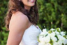 Wedding brides / Beautfiul brides, bouquets, hair and make up.