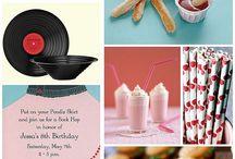 Sock Hop Party Theme / Ideas for Ava's next birthday / by Takisha (Design) Inspirations