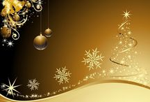 kerstmenu achtergronden
