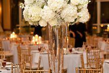 Inspiration for tall table centrepieces