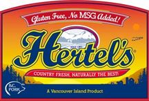 Hertel Meats / A small family enterprise beloved by Vancouver Island's gluten-free community. Established in 1967, Hertel's pioneered the production of products seasoned without MSG. Equally renowned for fresh sausages processed without gluten, milk products or artificial preservatives and naturally smoked bacon cured without the use of sodium nitrite, nitrate or other chemicals.
