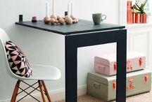 Mesa que vira espelho