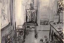 Drawing - Interiors