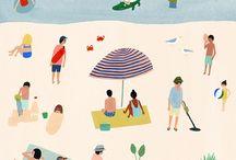 ILLU plages