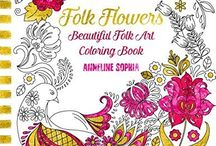 Coloring Books / Artwork from #adult #coloring books