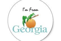 Georgia on my mind / We're from Georgia, born and raised!  Sharing what we love about our wonderful state.  / by Whimsees {personalized gifts}