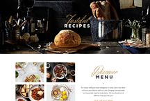 Web layouts - restaurants