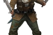 Hex: Characters. / PC and NPC for Hollow Earth Expédition.