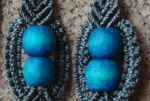 kolczyki /macrame earrings