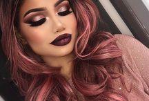 Hair, makeup and nails