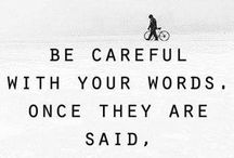 Words. / by Cassidy McGrath