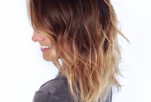 My next colour type / Mainly ombré hair colour