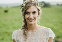 Braut ~ Bride / Brautfrisur, Brautkleid, Brautmakeup und mehr