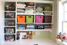 storage ideas / by Lynne Huggins