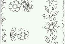 Flores para la puerta