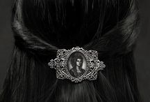 Gothic Hair Accessories / Beautiful hair accessories for that finishing touch.