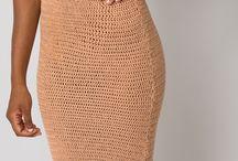 suknie szydełko