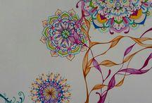 Voo / Série de desenhos sobre papel
