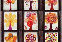 Podzim / Podzimni napady. Prirodniny, okna, zahrada