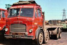 Old times trucks