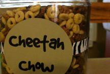 Cheetah birthday stuff