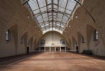 Tennis indoor