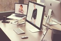 Office space / Great ideas for office and work station. / by Printsome