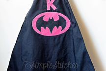 {my superhero capes}