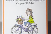 Cards- Ideas For Young Girls / cards for female friends - anything girlie ,jokie , alcohol related