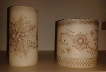 Candles / Candle drawing and printing