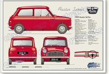 Austin Seven Mini / by Ant Stevens