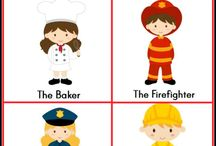 Community Helpers Activities Pre-K / Preschool / by Karen Cox @ PreKinders