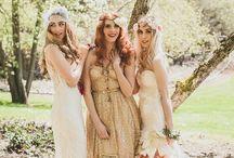 Boho Chic Wedding / Boho Chic Wedding Ideas & Inspiration. Bohemian Wedding Decor & Details.