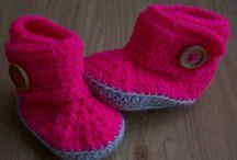 Gehaakte baby accessoires / gehaakte baby accessoires