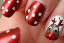 art ongles thème de Noël