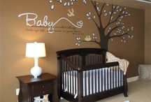 NURSERY && Kids room Ideas / Ideas for nurseries and kids room / by Cassie Solomon