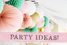 Prima Party Ideas / Fun party ideas with our Prima products and more! www.primamarketinginc.com