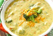 La crème de brocoli et cheddar