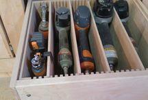 Tool boxes / Tool storage