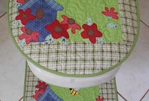 Bathroom sewing projects