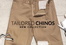 Tailored Chino Pants Collection / Discover New Chino Pants at Tailor4less.com