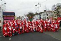 Santas on the Run Bideford 2013