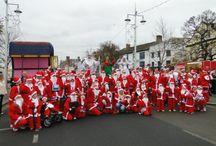 Santas on the Run Bideford 2013