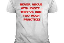 Funny T-Shirts / T-shirts with funny captions for all ages and sexes.