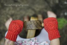 Crocheting: Mittens