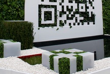 Chelsea Flower Show 2012 / Involved in the green wall planting for the QR code garden