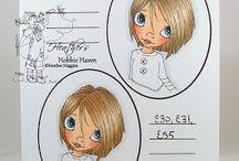 Copic Markers cabello y piel