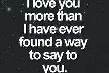 Love says..